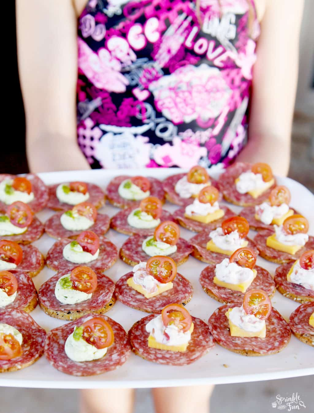 Easy Appetizers for a backyard party!