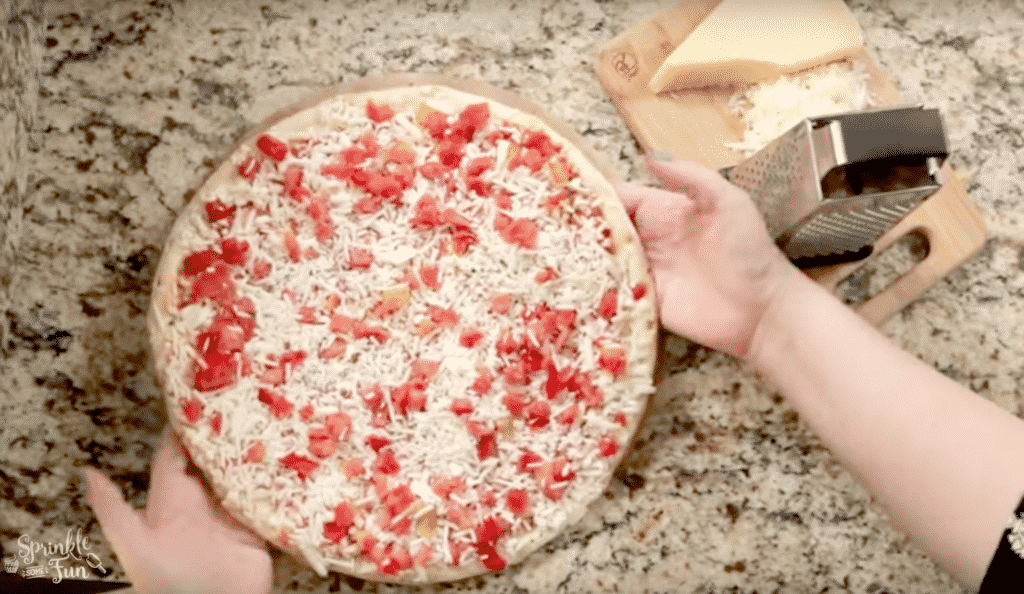 Easy entertaining ideas using pizza ingredients!!