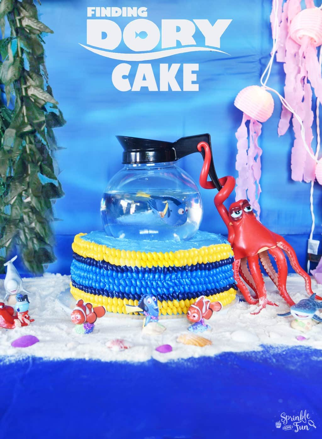 Finding Dory Cake Sprinkle Some Fun
