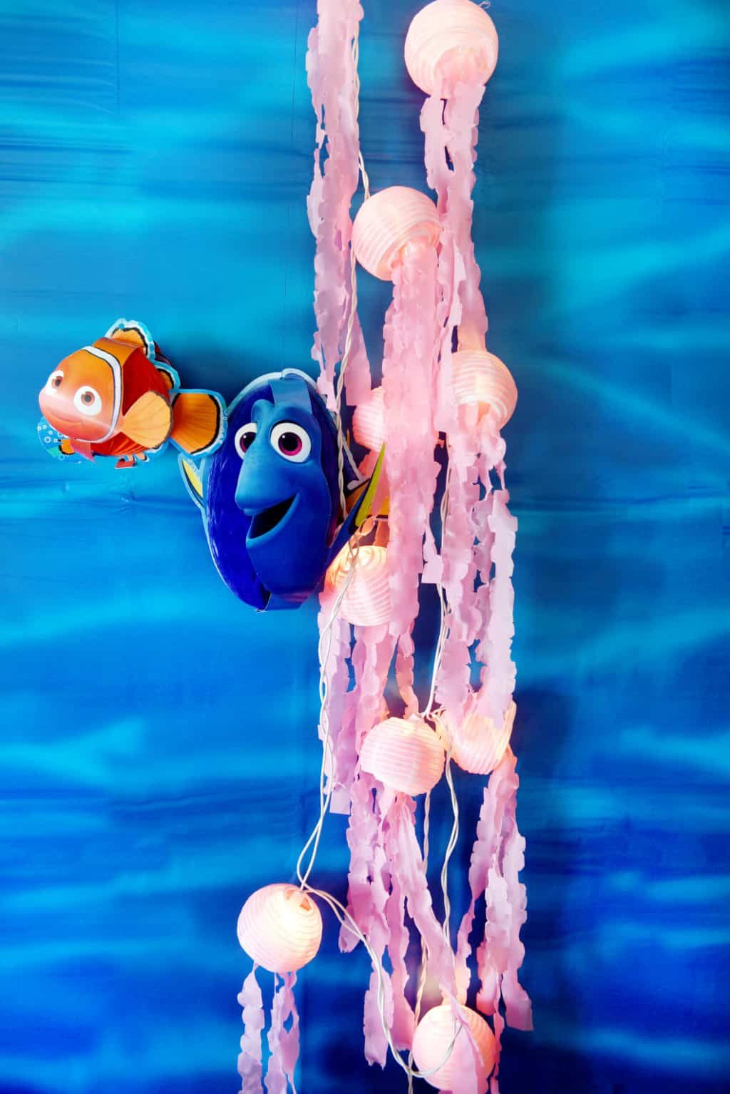 Finding Dory Party Jelly Fish Mini Lights!