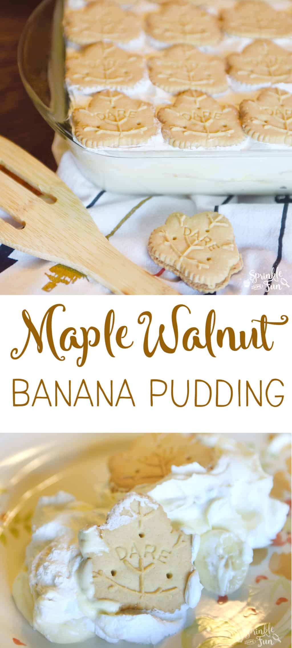 Maple Walnut Banana Pudding is new take on banana pudding. The sweet hints of maple and nuts really made this banana pudding spectacular.