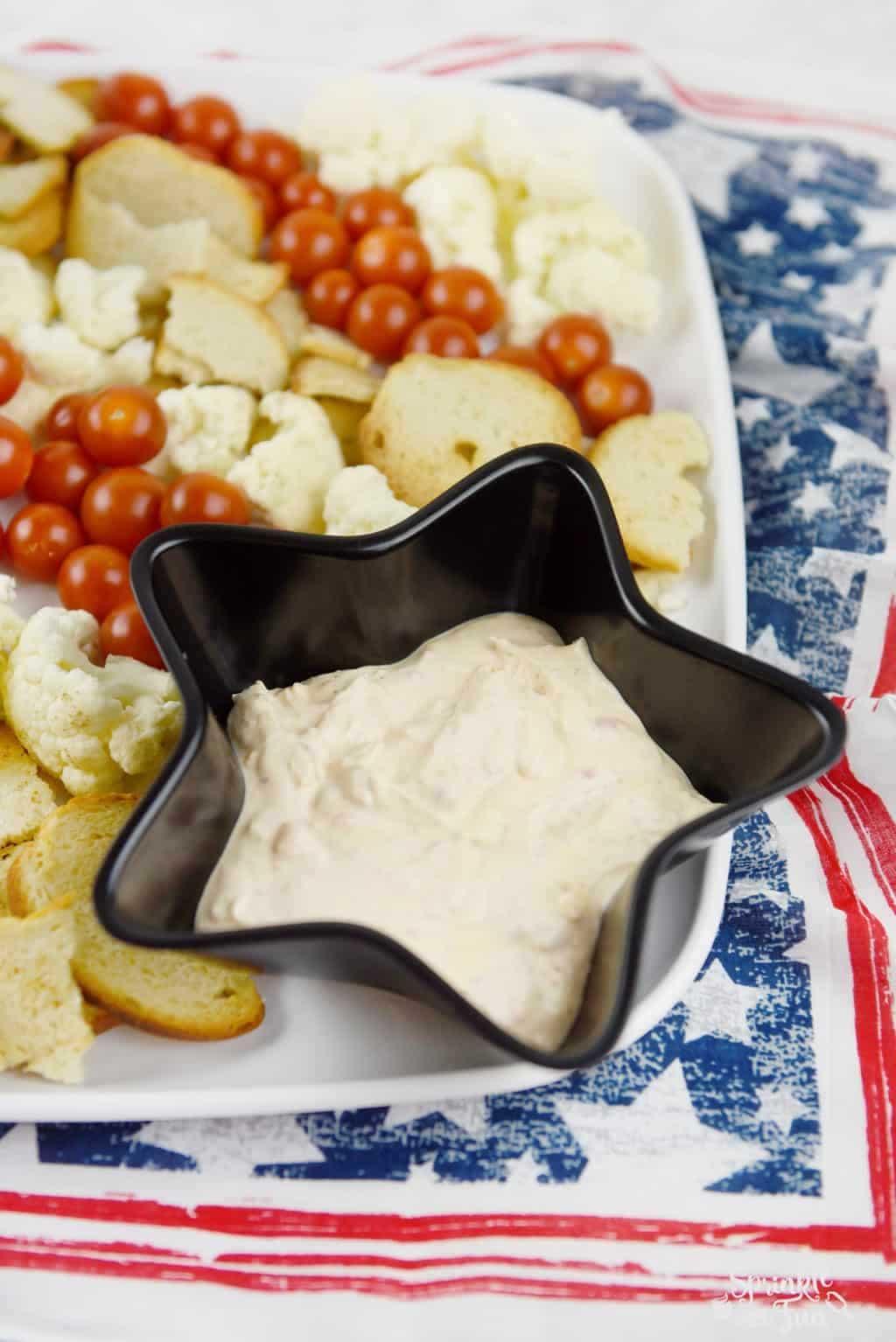 Patriotic Veggie Platter!!