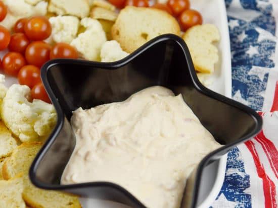 Patriotic Veggie Platter
