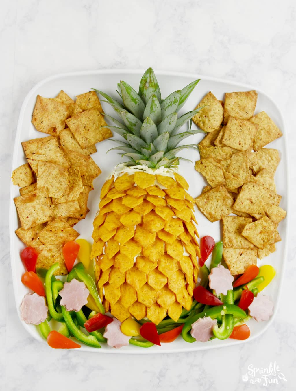 Pineapple Cheeseball Platter!
