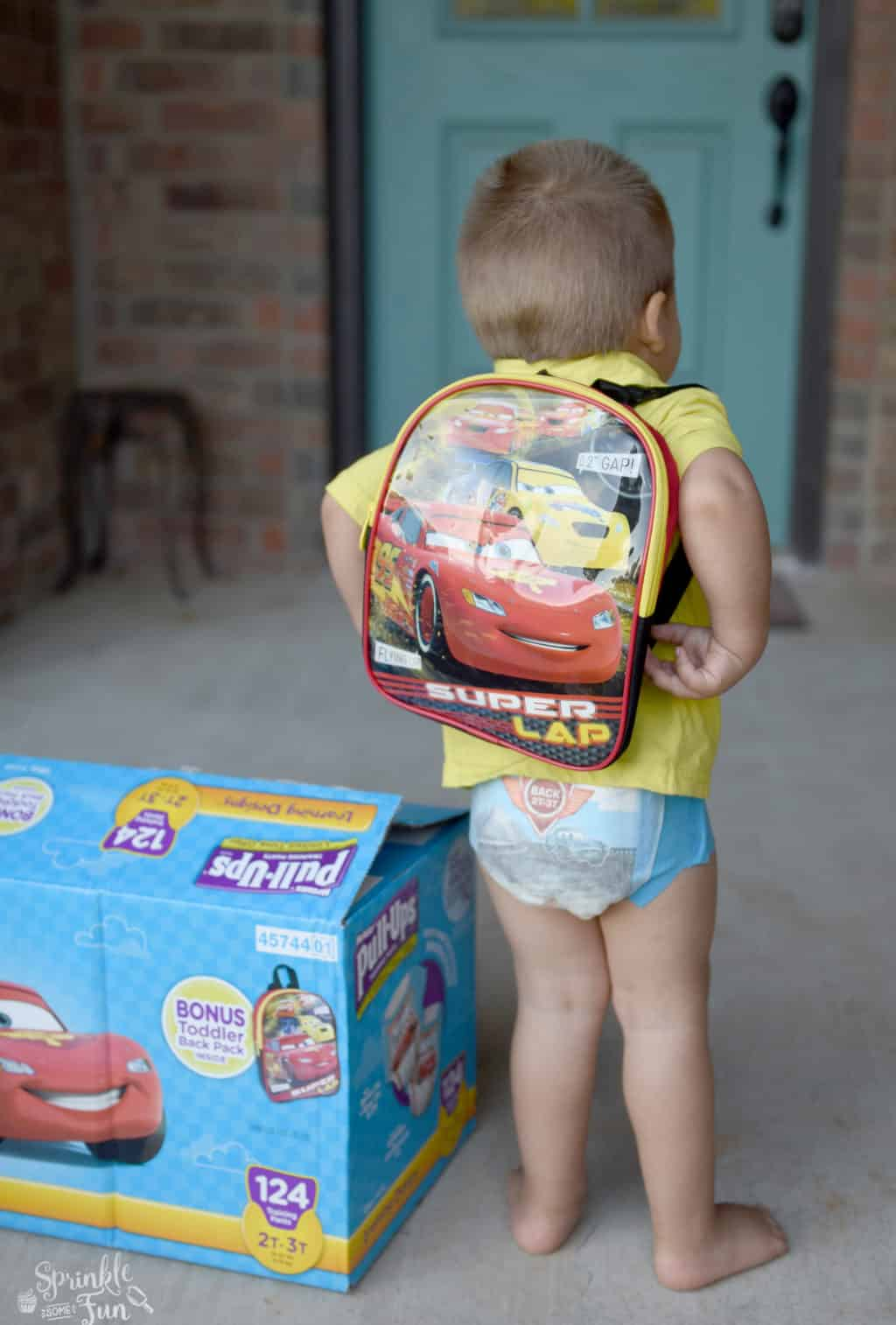 Potty Training Backpack List for toddlers