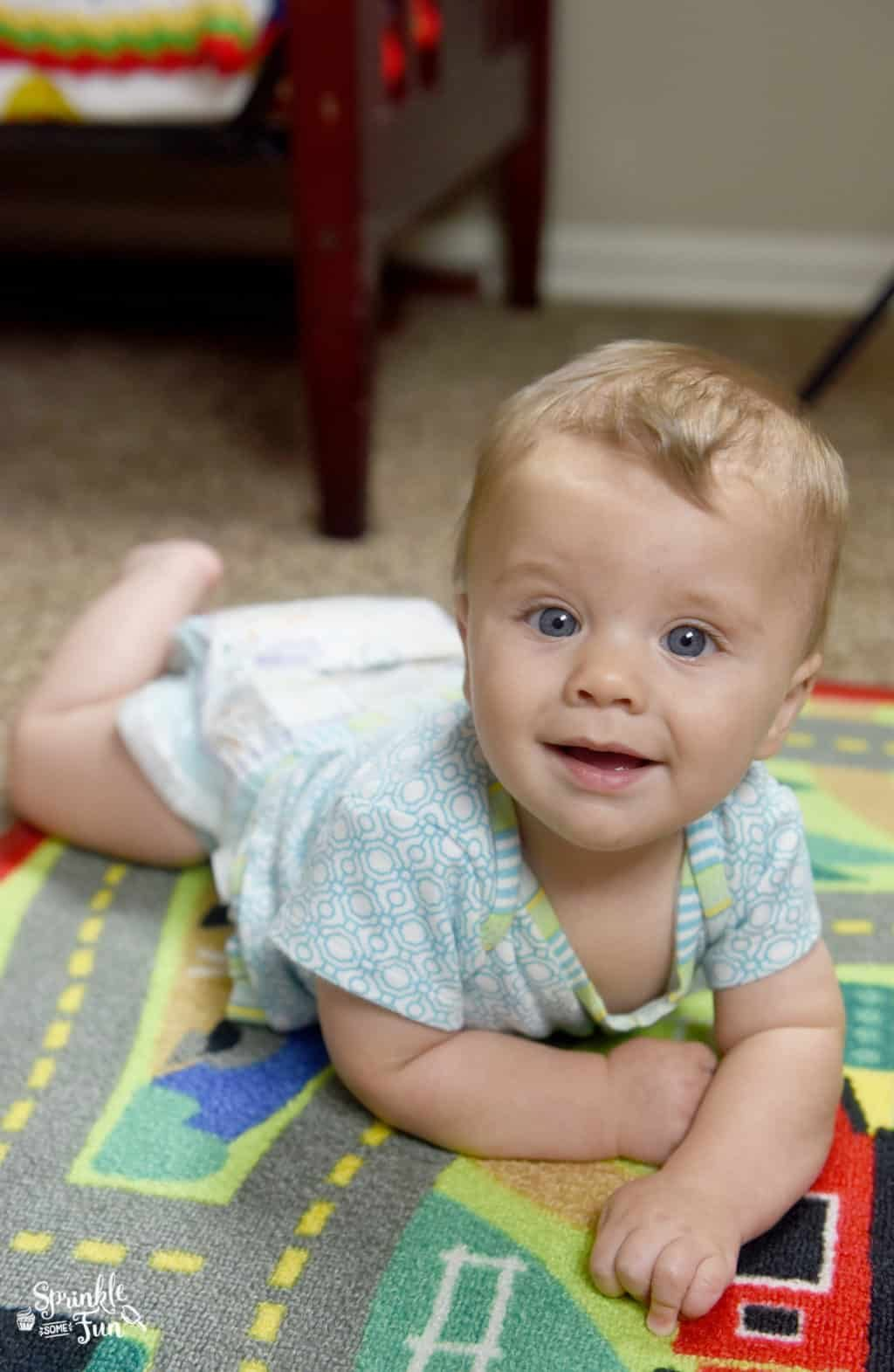 Tips for Changing Diapers for a Little Mover