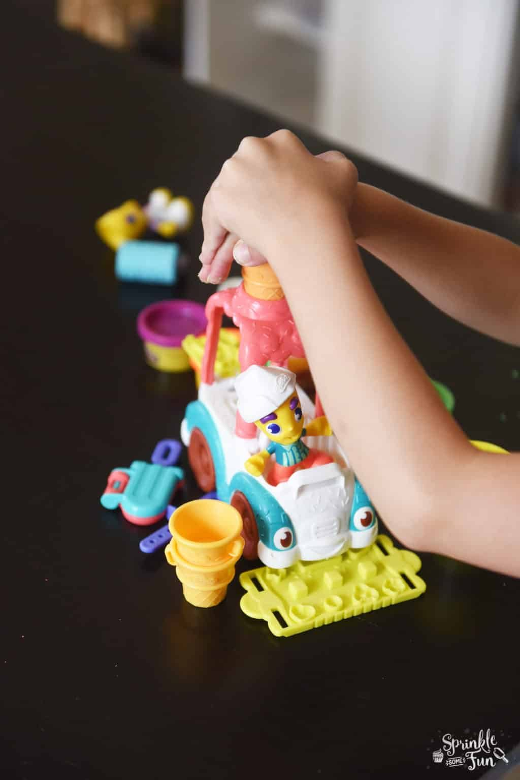 Play Doh Town Playing