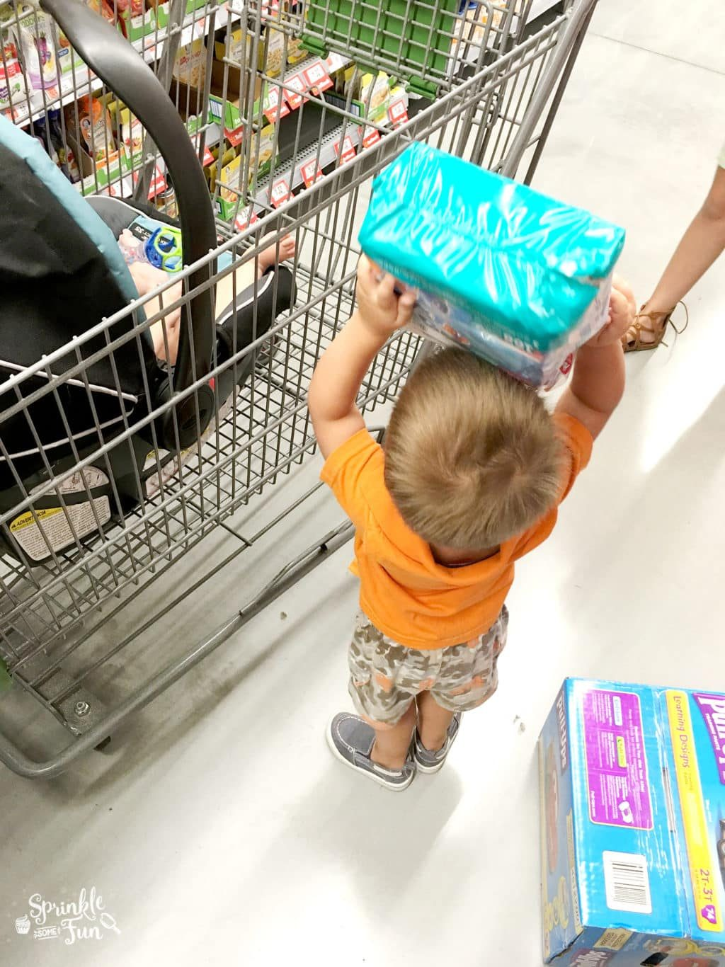 Potty Training Shopping Game for Toddlers