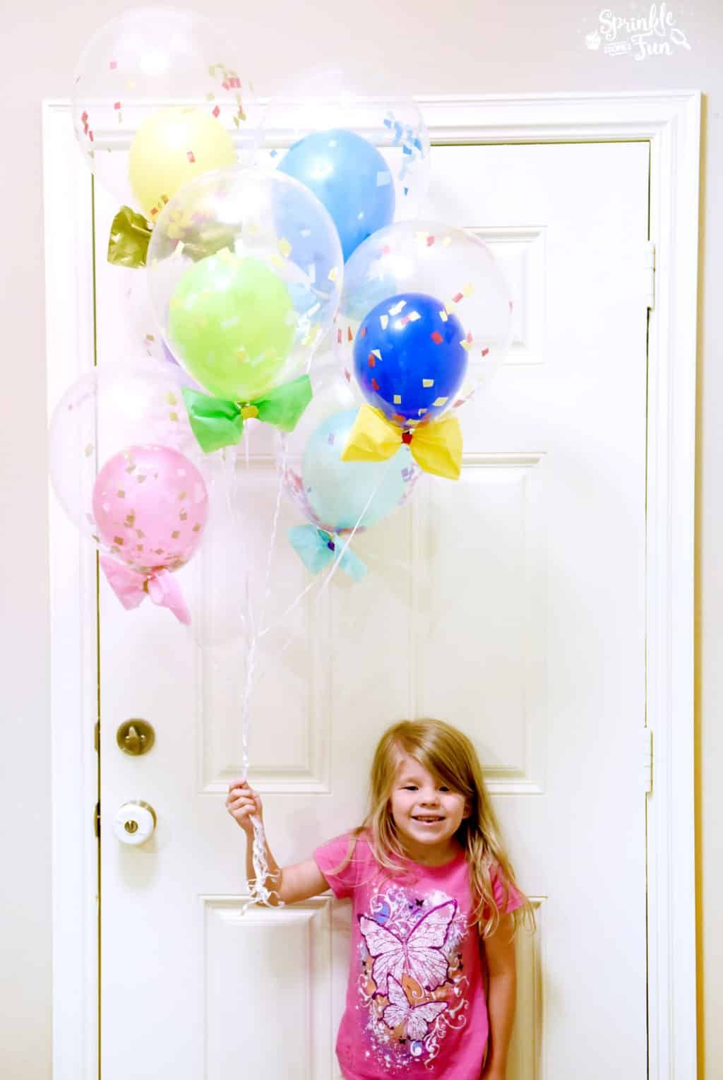 Princess Party Balloons DIY!