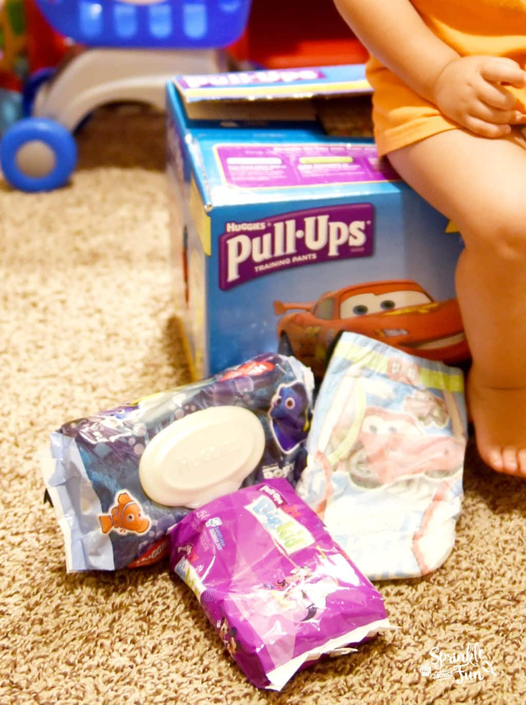 Shopping Game for Potty Training!!