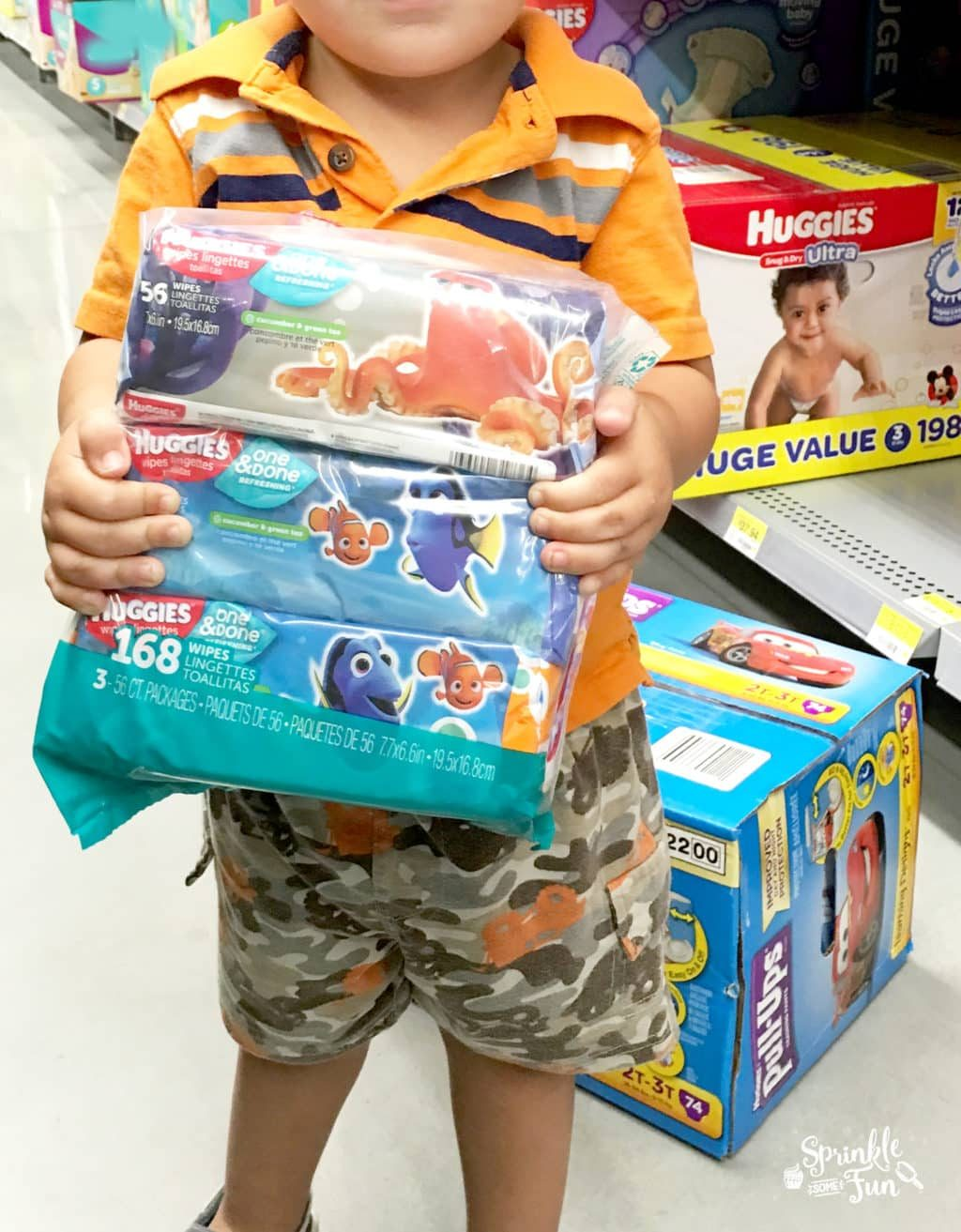 Shopping Game for Potty Training!!!!