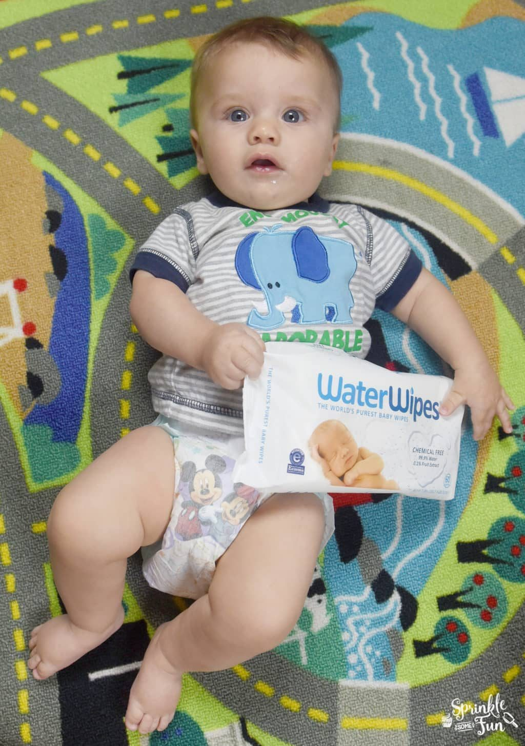 Water Wipes All Natural Baby Wipes