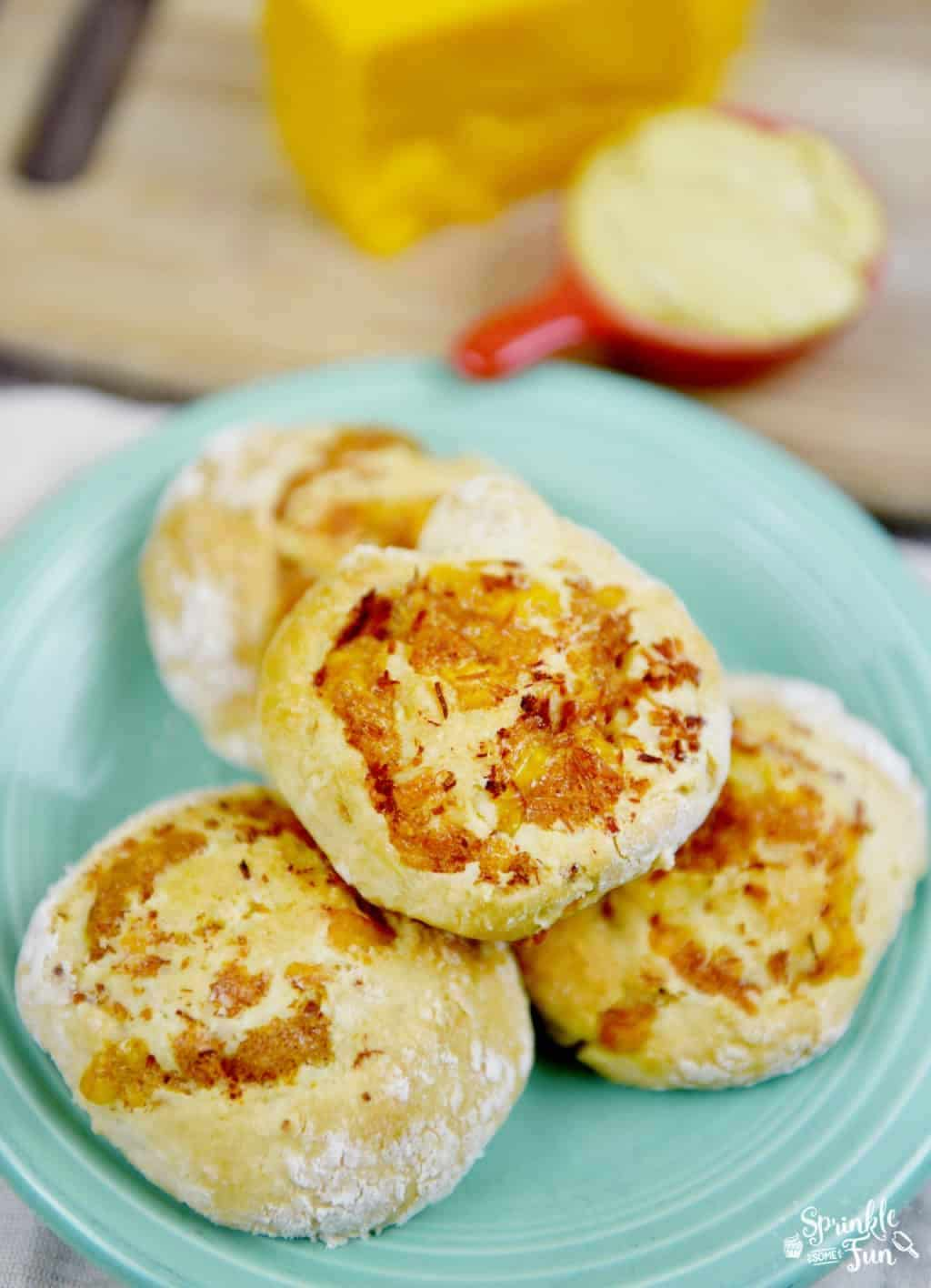 Ham and Cheese Biscuit Rolls