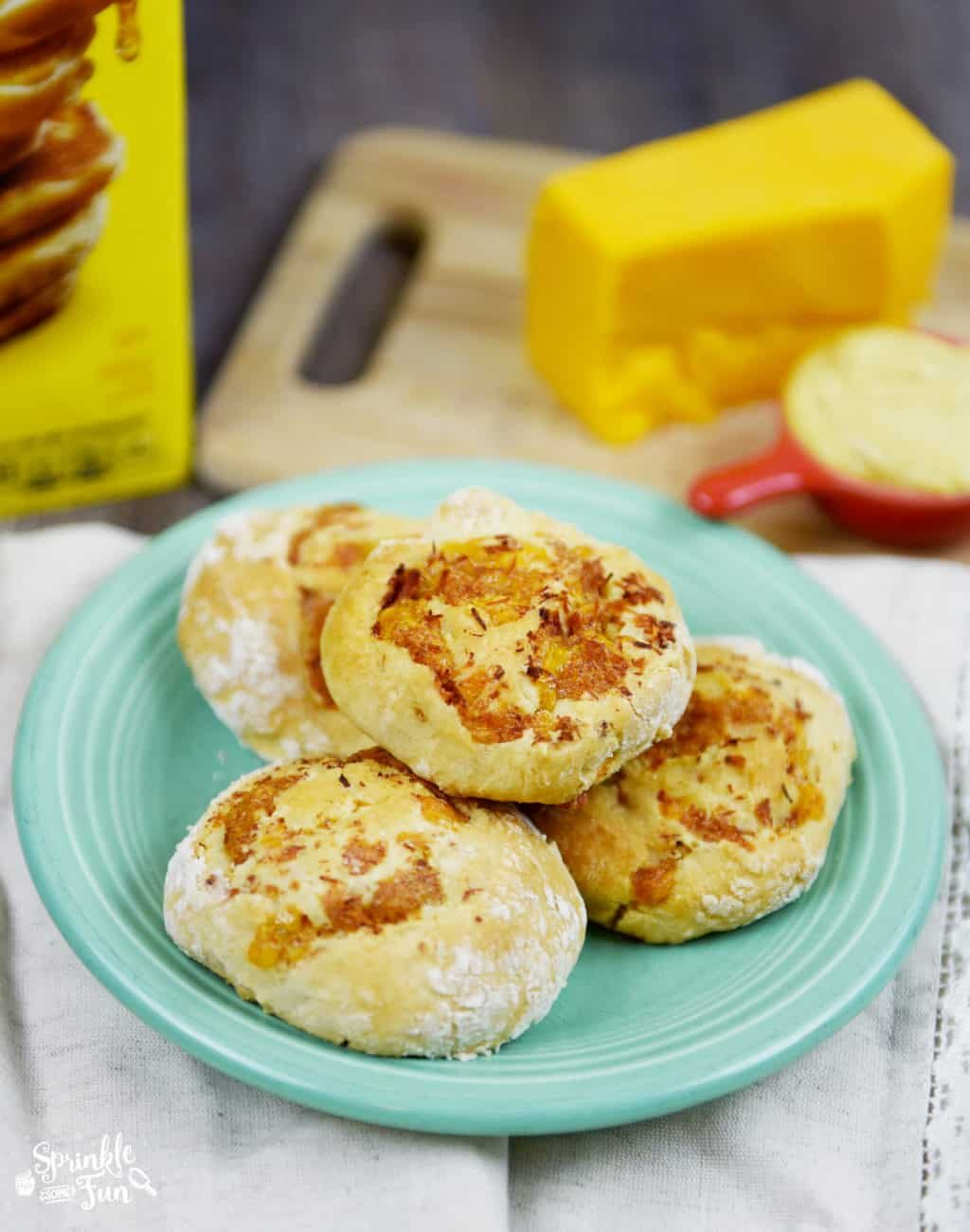 Ham and Cheese Biscuit Rolls!!!