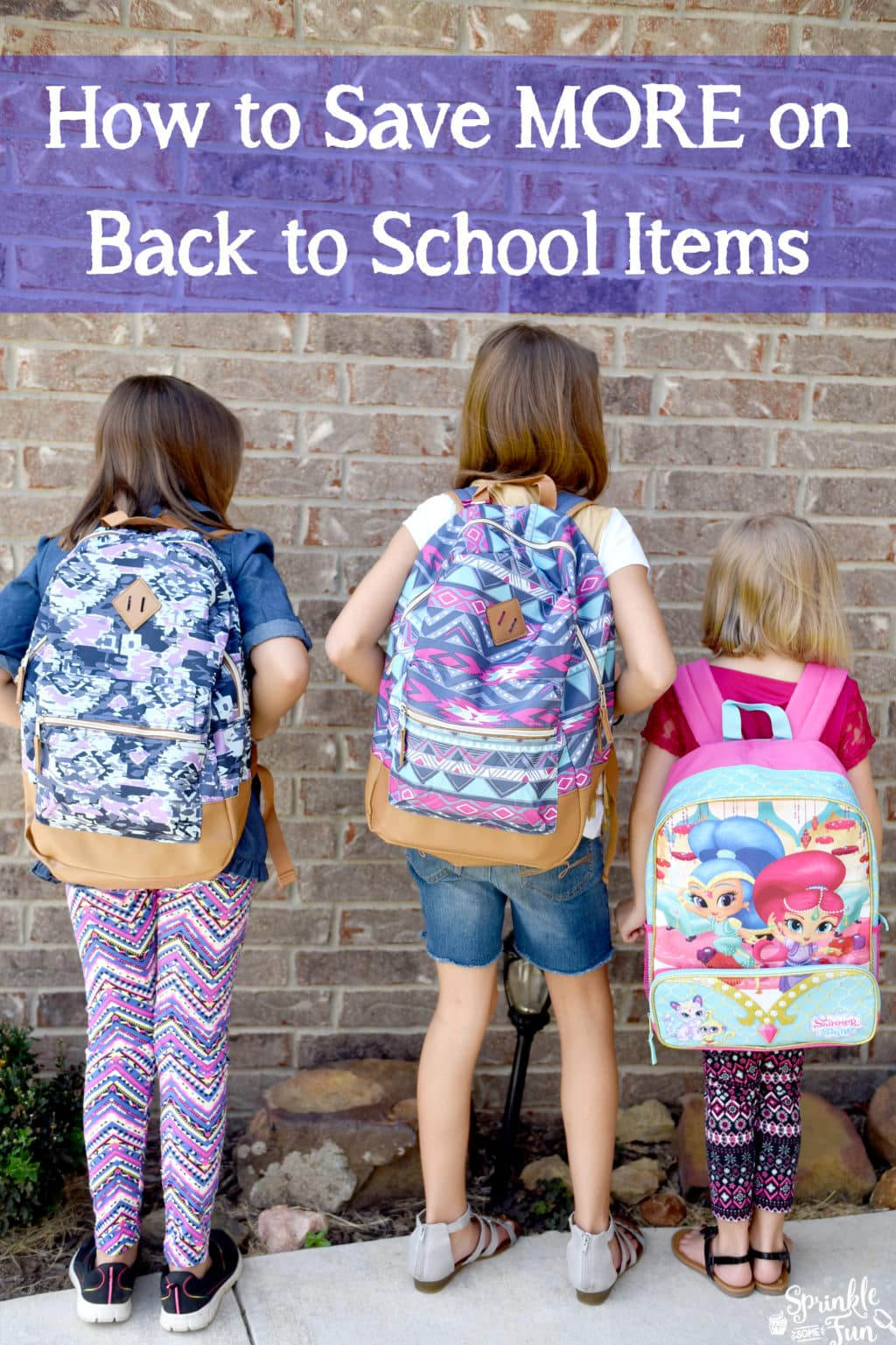 How to Save MORE on Back to School Supplies with Ebates