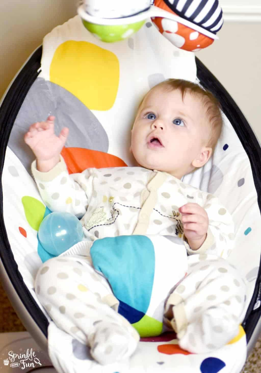 mamaRoo Infant Seat · Review from a 5th Time Mom ⋆ Sprinkle Some Fun