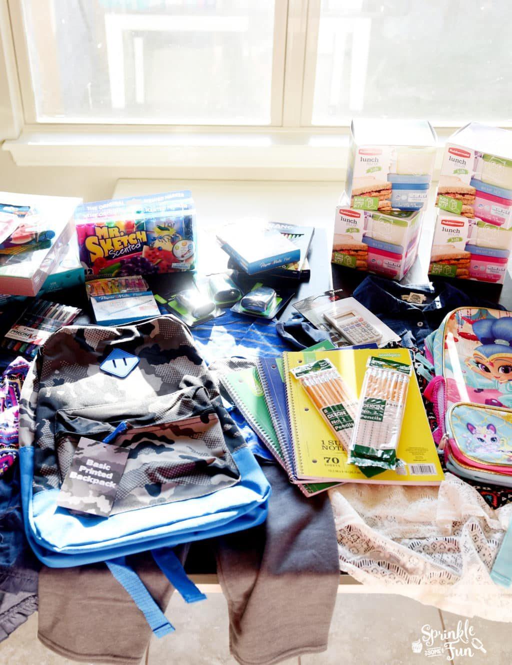 Saving on School Supplies with EBATES