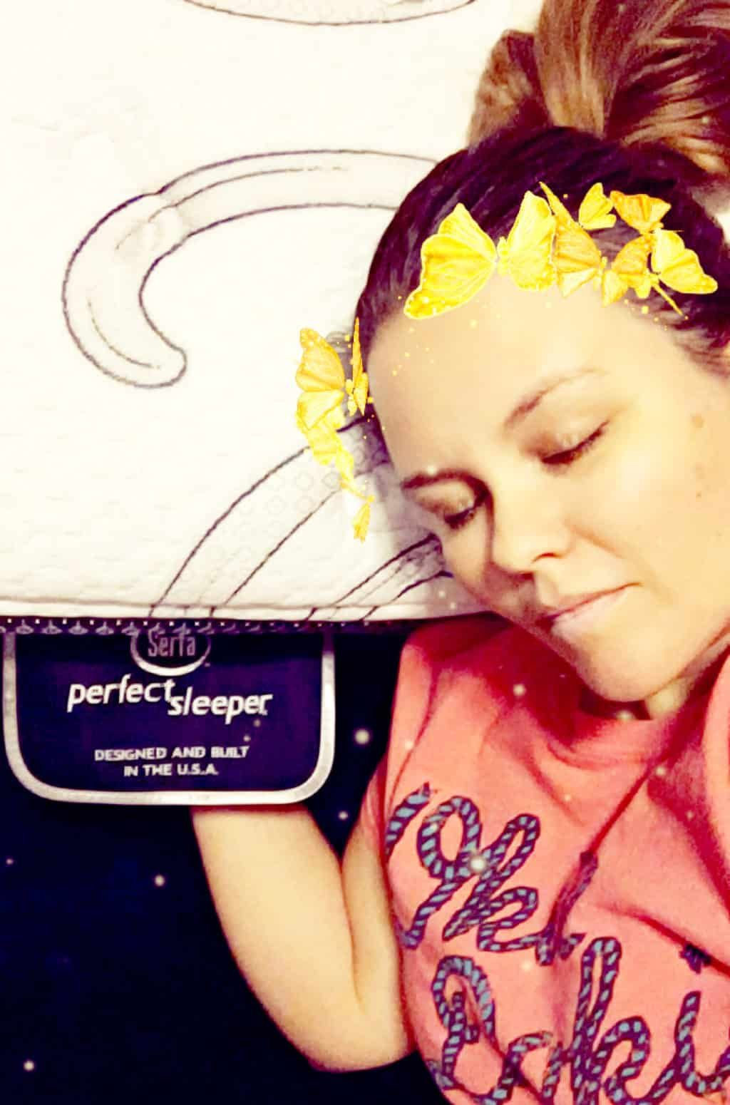 Serta Perfect Sleeper Selfie