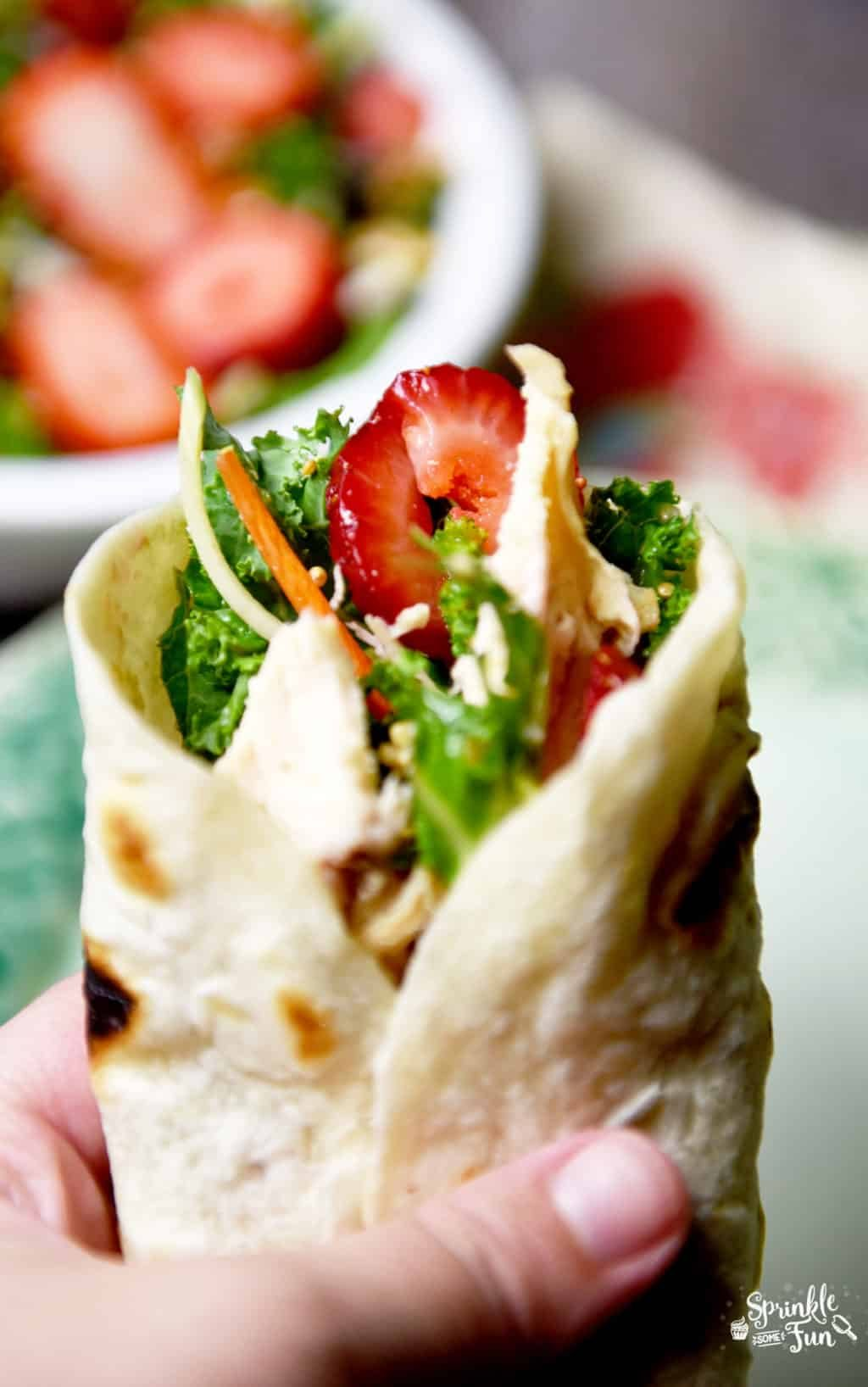 chicken-and-strawberry-salad-wrap
