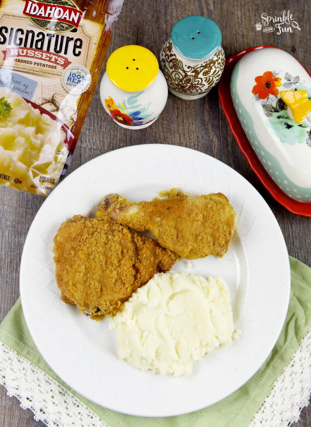 oven-fried-chicken-with-mashed-potatoes