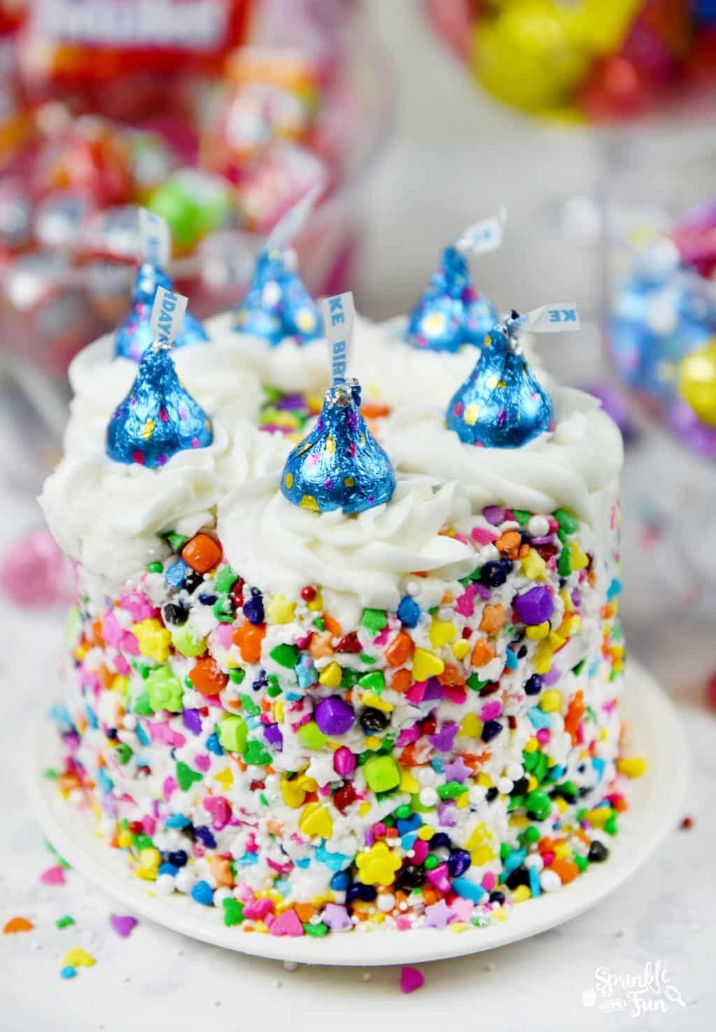 birthday-sprinkle-cake-with-birthday-cake-kisses