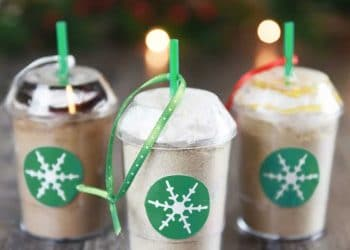 DIY Frozen Coffee Mix Ornaments