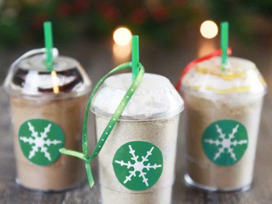 DIY Frozen Coffee Mix Ornaments