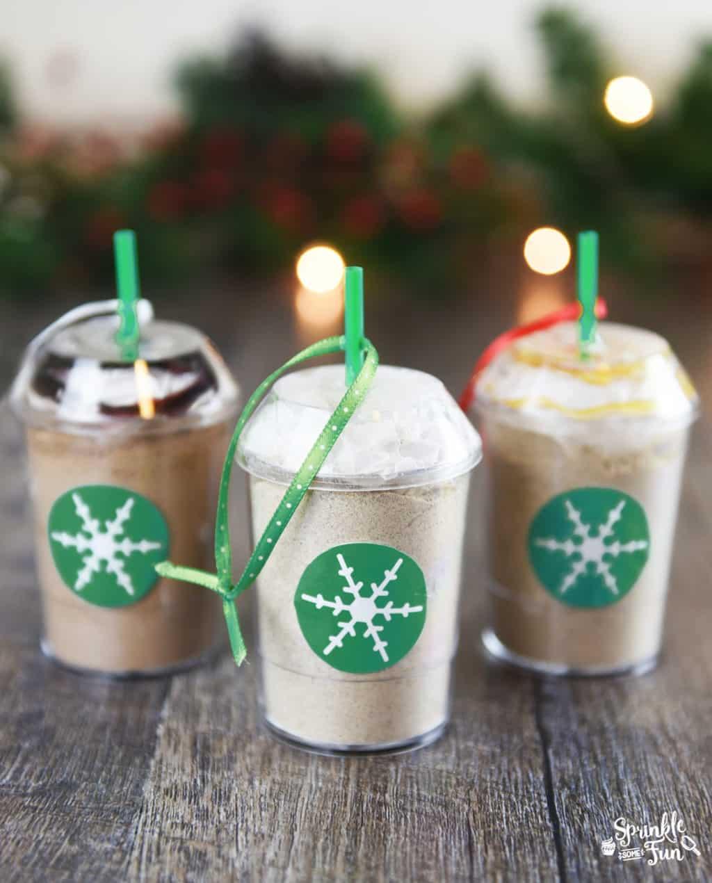 Diy Sprinkle Ornaments: DIY Frozen Coffee Mix Ornaments