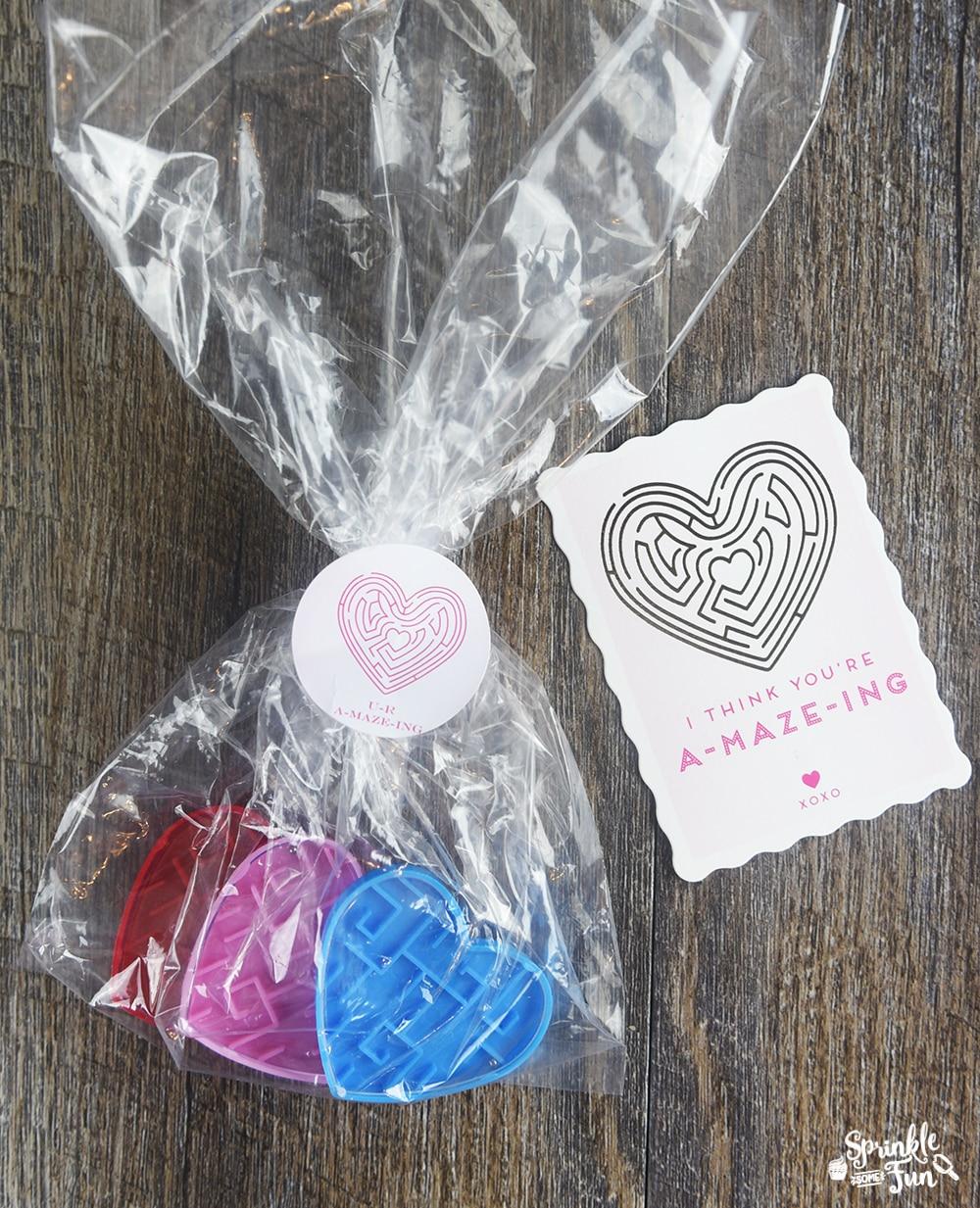 7 Super Cute Valentines! I think you're A-MAZE-ING, Valentine!