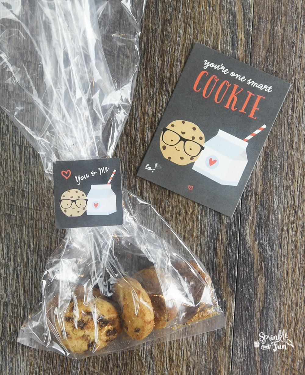 7 Super Cute Valentines!  Smart Cookie Valentine!