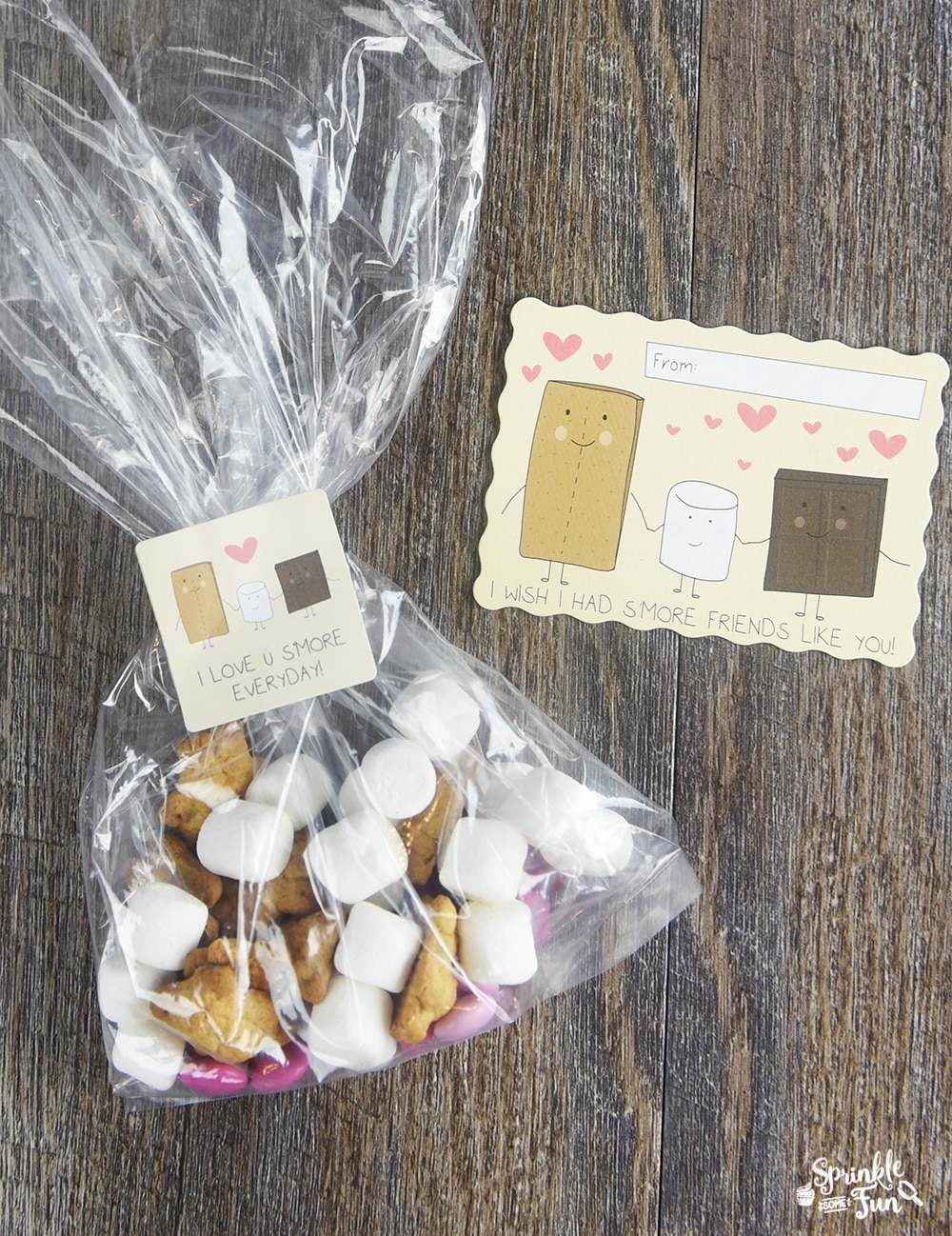 7 Super Cute Valentines! S'More friends like you, Valentine!