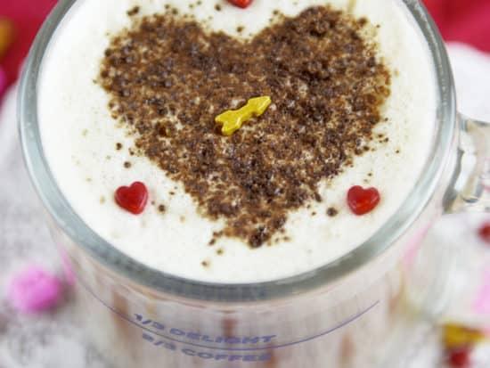 Valentine Latte Art