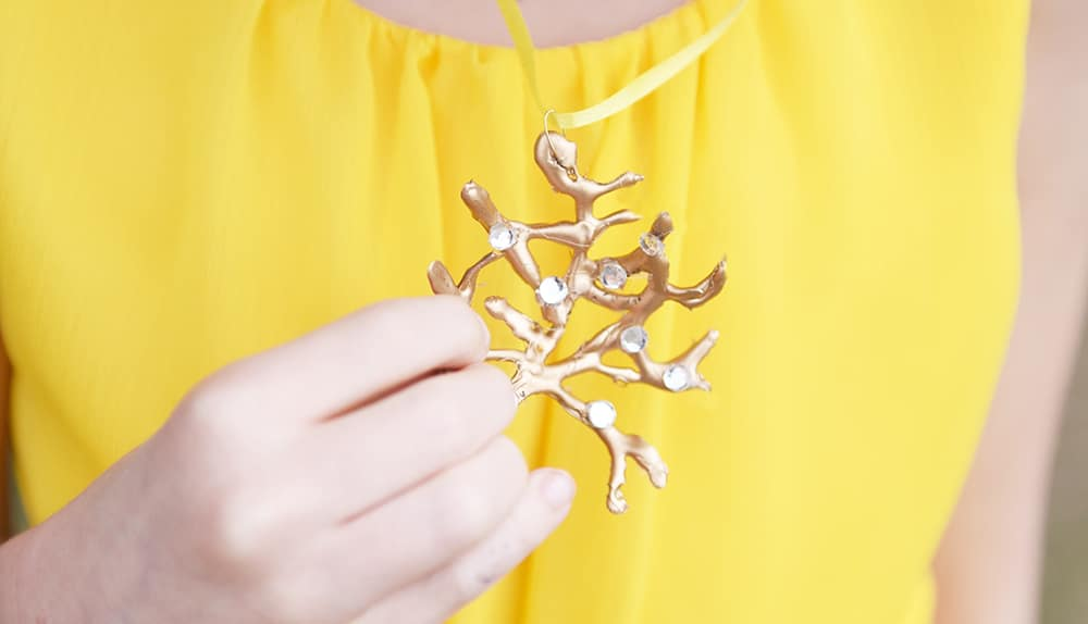 Diy Beauty And The Beast Rose Tree Necklace Sprinkle