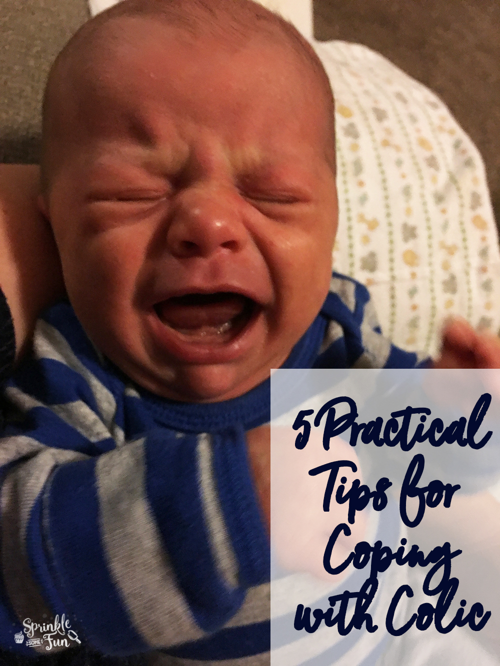 5 Best Practical Tips on Coping with Colic.  Those first few months of infancy are so amazing, but also some of the most trying times.