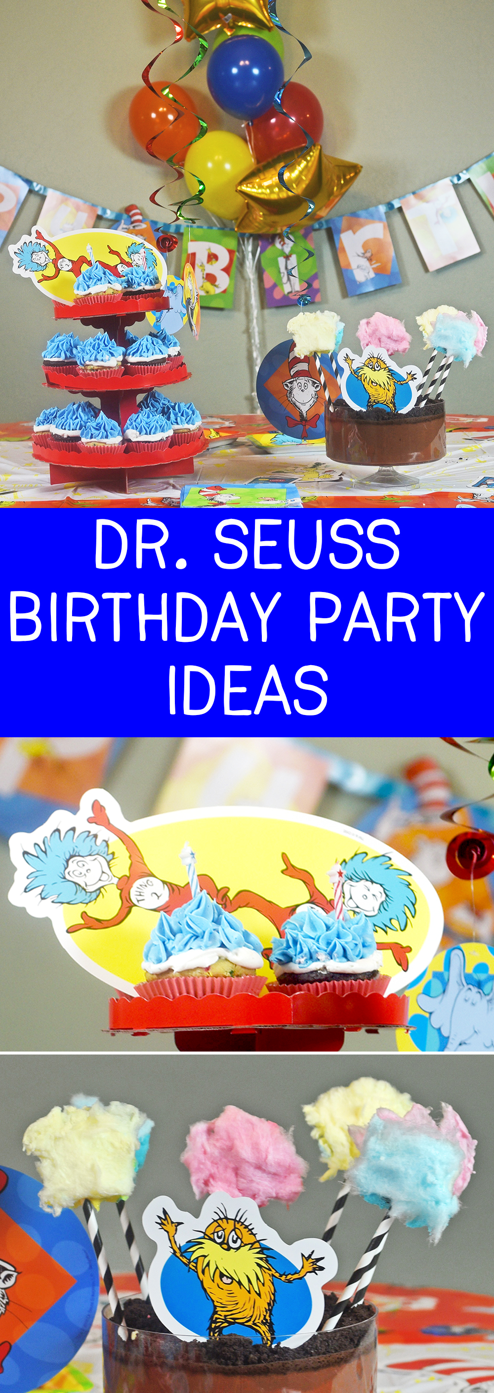 This Dr. Seuss Birthday Party is perfect for any Dr. Seuss book lover!
