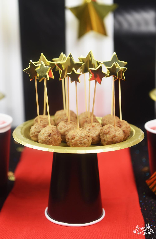 5 Easy Oscar Party Ideas • Sprinkle Some Fun Pretty Cupcake Ideas