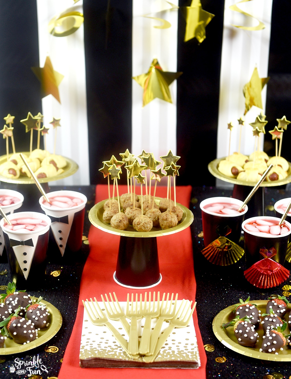 5 Easy Oscar Party Ideas Sprinkle Some Fun
