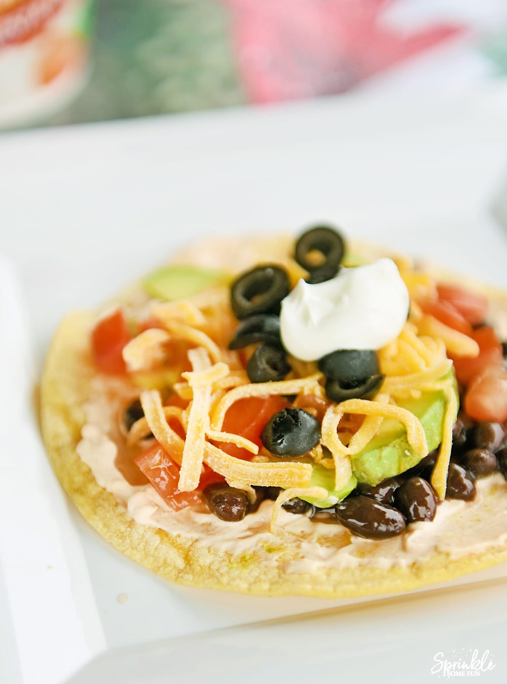 Baked Southwestern Ranch Tostadas - Sprinkle Some Fun