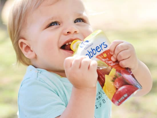 Nutrition on the Go with Gerber Grabbers
