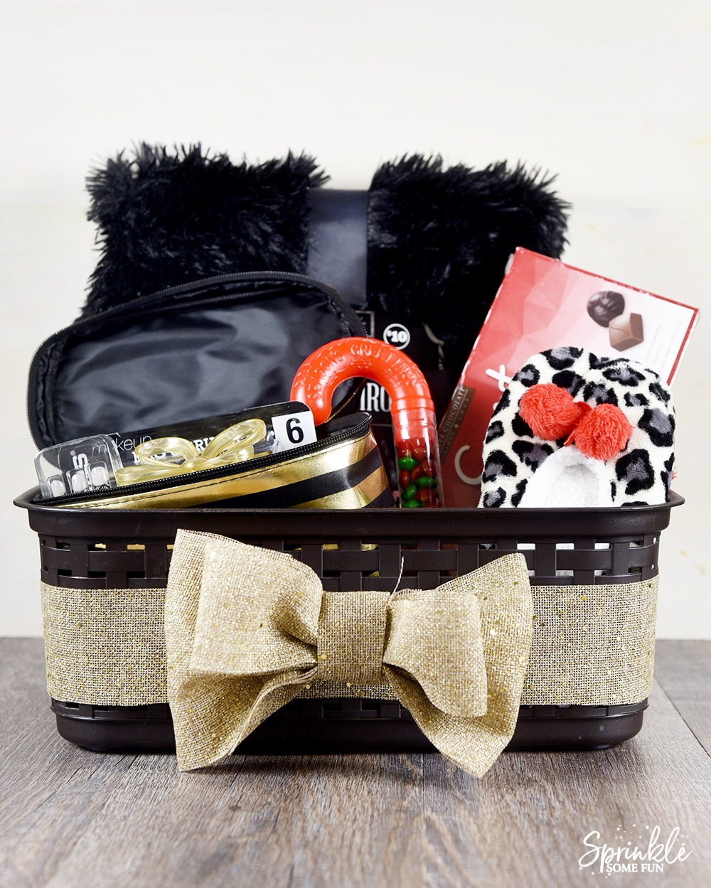 Not gift basket for teen safe