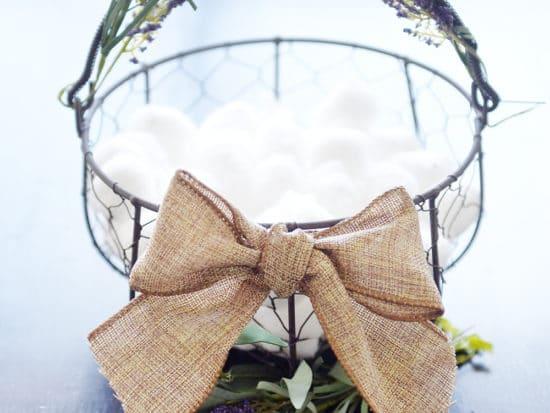 Farmhouse Style Easter Basket