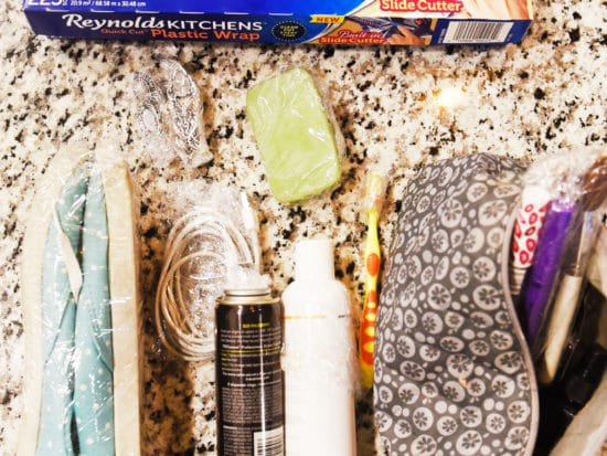 5 Clever Packing Tips using Plastic Wrap