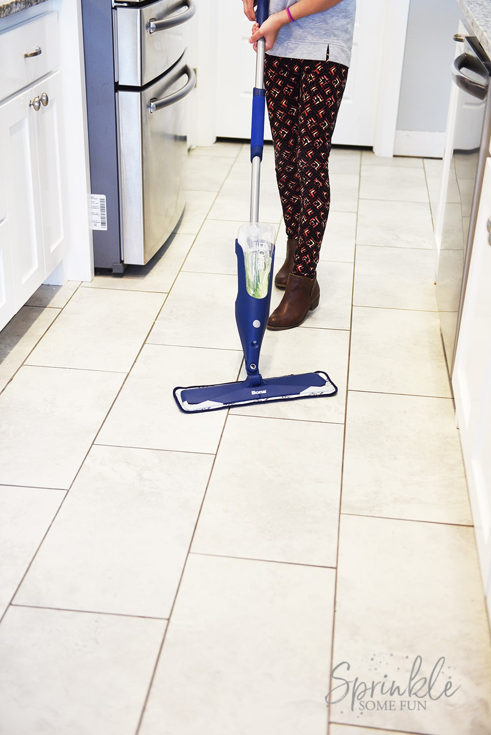 Easy Way To Clean Tile Flooring ⋆ Sprinkle Some Fun