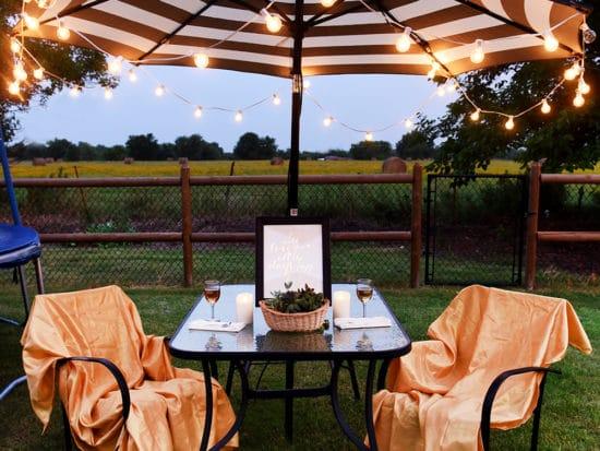 Backyard Date Night Ideas for Summer Entertaining
