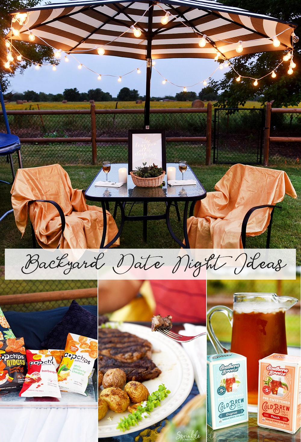 Backyard Date Night Ideas