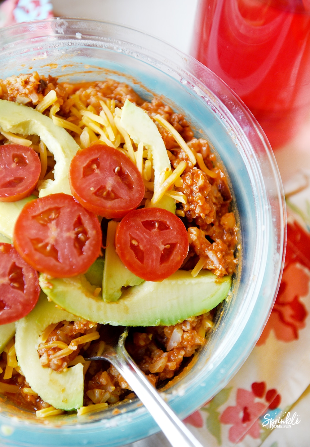 Cauliflower Crumbles Burrito Bowl