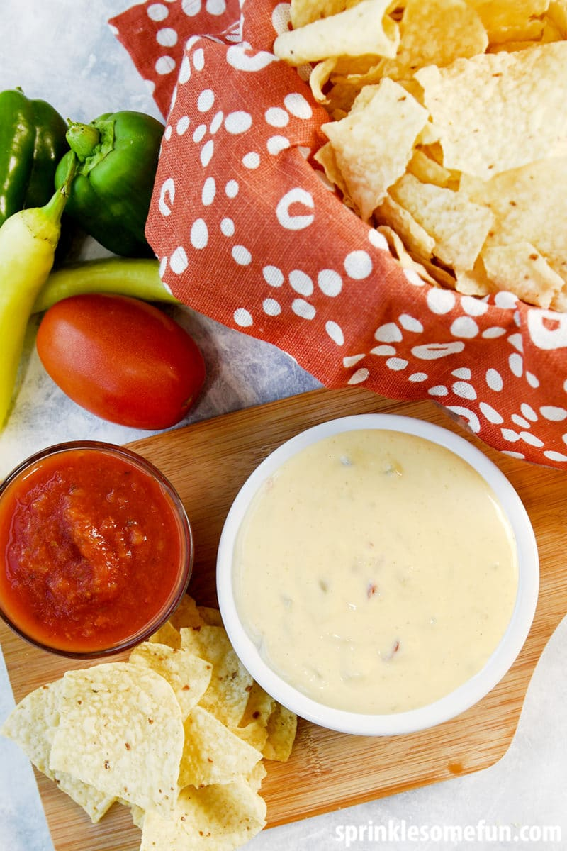 Queso Recipe ~ Restaurant Style