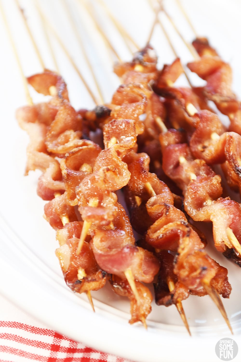 Bacon on Skewers