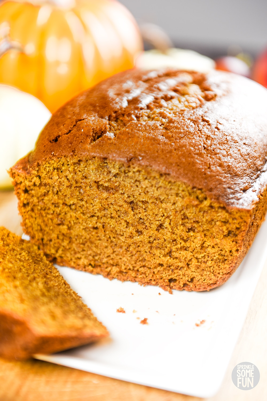 Best Pumpkin Bread Super Moist Delicious Sprinkle Some Fun