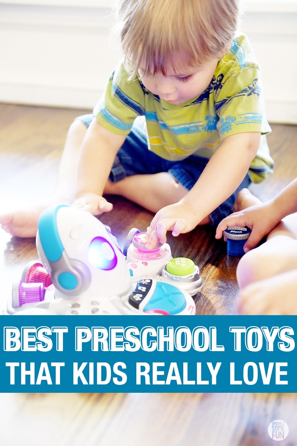 The best preschool toys are easy to pick out once you know how preschoolers play and what gives them the most satisfaction.  Here are 5 Tips for Picking the Best Preschool Toys. #preschool #toys #bestpreschooltoys #learningtoys #preschoolgifts #gift #christmaslist #kids #parenting #learning #playtolearn